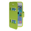 MOONCASE View Window Leather Side Flip Pouch Stand Shell Back ЧЕХОЛДЛЯ Apple iPhone 5C Green roar korea for iphone 7 4 7 diary view window leather stand case green