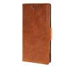 MOONCASE ЧЕХОЛ ДЛЯ Sony Xperia M4 Aqua Wallet Card Slot with Kickstand Flip Leather Back Brown high quality for sony xperia m2 aqua
