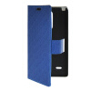 MOONCASE Slim Leather Side Flip Wallet Card Slot Pouch with Kickstand Shell Back чехол для LG G3 Stylus / D690 Blue mooncase slim leather side flip wallet card slot pouch with kickstand shell back чехол для lg l bello d331 d335 red