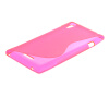 MOONCASE S-Line Soft Flexible Silicone Gel TPU Skin Shell Back чехол для Sony Xperia T3 D5103 D5106 Hot pink mooncase s line soft flexible silicone gel tpu skin shell back чехол для htc desire 516 d516w hot pink