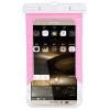 Gaga Lin мобильный телефон водонепроницаемый мешок дайвинг мобильный телефон наборы мобильный телефон сумка плавание водонепроницаемые наборы плавательный пакет водонепроницаемый пакет розовый большой 5,0-6,0 дюймовый мобильный телефон