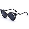 feidu нового кпп глаз очки бренда дизайнерской моды линза уф женщин солнцезащитные очки для мужчин oculos де соль feminino vogue vogel очки черного кадра серебряного покрытия линза мода полной оправе очки vo5067sd w44s6g 56мм