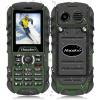 Оригинал Huadoo Н1 Водонепроницаемый Телефон 2.0 MTK6261A прочный Пылезащитный противоударный Телефон Телефон 2000мач Открытый Мульти-язык телефон