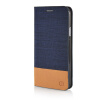 MOONCASE Canvas Design Leather Side Flip Wallet Pouch Stand Shell Back ЧЕХОЛ ДЛЯ Samsung Galaxy E7 Dark Blue mooncase canvas design leather side flip wallet pouch stand shell back чехол для samsung galaxy note edge n9150 dark blue