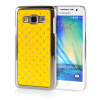 MOONCASE Hard Chrome Plated Star Bling Back ЧЕХОЛ ДЛЯ Samsung Galaxy A3 Yellow аксессуар чехол накладка samsung galaxy a3 2017 skinbox silicone chrome border 4people silver t s sga32017 008