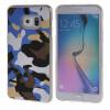 MOONCASE Samsung Galaxy S6 Edge Plus ЧЕХОЛДЛЯ Slim Soft Silicone Gel TPU Skin Protective Blue ultra slim clear phone cases for samsung galaxy s6