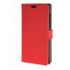 MOONCASE Simple style Leather Card Slot Wallet Bracket Back чехол для BlackBerry Leap Red blackberry leap