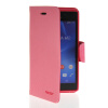 MOONCASE Classic cross pattern Leather Side Flip Wallet Card Pouch Stand Soft Shell Back чехол для Sony Xperia M2 Pink mooncase classic cross pattern leather side flip wallet card slot pouch stand shell back чехол для htc desire 816 hot pink
