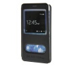 MOONCASE Samsung Galaxy Note 4 Edge чехол для View Leather Flip Pouch Bracket Back Cover Black keymao luxury flip leather case for samsung galaxy s7 edge