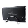 Ван Бяо (ССК) SHE053 звездно 3,5 дюйма USB2.0 HDD Enclosure SATA / IDE интерфейс поддерживает двойной настольный жесткий диск (черный)  корпус для жестого диска ssk she053 3 5 sata ide