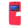 MOONCASE View Window Leather Side Flip Pouch Ultra Slim Shell Back ЧЕХОЛДЛЯ Sony Xperia Z1 Compact (Z1 Mini ) Hot pink чехол sony xperia z1 compact купить киев
