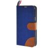 MOONCASE Denim Style Flip Wallet Card Pouch Bracket Back чехол для Cover Samsung Galaxy S5 Mini синий чехол для samsung galaxy s5 mini g800fg800h flip cover белый
