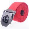 Шан Longfei Тяньи Длинные холст пояса металла пряжки кожа хвост хвост 120 см шифрования ленты военного тактического пояса военные вентиляторы открытый отдых красный AR55