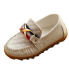 Малыш Детские Малыш Мальчик мокасины Loafer кожа мягкая случайные Оксфорд Boat горох обувь