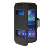 MOONCASE View Window Leather Side Flip Pouch Stand Shell Back ЧЕХОЛ ДЛЯ Samsung Galaxy Ace 3 S7270 / S7272 Black фен polaris phd 2083ti