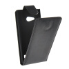 MOONCASE Smooth skin Leather Bottom Flip Pouch чехол для Nokia Lumia 730 Black mooncase smooth skin leather bottom flip pouch чехол для nokia lumia 730 blue