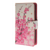 все цены на  MOONCASE Plum flower style Leather Wallet Flip Card Slot Stand Pouch чехол для Microsoft Lumia 430 A06  онлайн