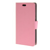 MOONCASE Simple Leather Flip Wallet Card Slot Stand Back чехол для HTC Desire 320 Pink htc desire 320 8gb dark gray
