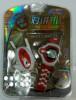 yixiukeji детский мини - профессиональные рации часы наушники, потрясающий игрушка рождественские подарки вэй beite wbt v6 портативной рации гражданского офисный стол заклинивание отправить наушники