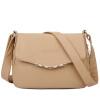 Aibkhk женская мода сумки женские натуральная кожа 2-слойные кожа коровы сумка Cross body сумка подарок для мамы четыре цвета M501