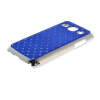 MOONCASE Luxury Chrome Plated Star Bling Back чехол для Samsung Galaxy Core Plus G3500 / Trend 3 G3502 Dark blue mooncase hard chrome plated star bling back чехол для huawei honor 3c white