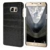 MOONCASE чехол для Samsung Galaxy Note 5 Wood Skin Hard Rubber Back Cover Black mooncase litchi skin золото chrome hard back чехол для cover lg g4 золото