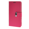 MOONCASE чехол для Sony Xperia T3 Flip Leather Wallet Card Slot Bracket Back Cover Hot pink mooncase чехол для sony xperia t3 flip leather wallet card slot bracket back cover yellow