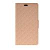 MOONCASE Leather Side Flip Wallet Card Holder Stand Shell Pouch ЧЕХОЛДЛЯ Sony Xperia M4 Aqua Beige