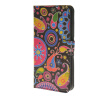 MOONCASE Flower style Leather Wallet Flip Card Slot Stand Pouch чехол для HTC Desire 620 A08 htc desire 650