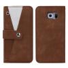Оригинал Многофункциональный Полный защитный кожаный чехол с минисумкой с бумажной тканью для карточек для S6 edge чехол для карточек авокадо дк2017 093