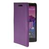 MOONCASE тонкий кожаный бумажник флип сторона держателя карты Чехол с Kickstand чехол для LG Google Nexus 5 Фиолетовый