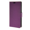 MOONCASE Simple Leather Flip Wallet Card Slot Stand Back чехол для Huawei Ascend Y635 Purple boxwave huawei g6310 bamboo natural panel stand premium bamboo real wood stand for your huawei g6310 small