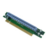 PCI-E 16X Экспресс 90 градусов адаптер Riser Card Для 1U серверный корпус компьютера pci e 16x экспресс 90 градусов адаптер riser card для 2u серверные корпуса компьютера