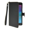 MOONCASE Litch Skin Leather Side Flip Wallet Card Slot Pouch Stand Shell Back ЧЕХОЛДЛЯ Samsung Galaxy Note 4 N9100 Black enkay protective tpu back case cover w stand for samsung galaxy note 4 n9100 green