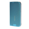 MOONCASE Slim Surface holes Leather Side Flip Pouch Shell Back ЧЕХОЛДЛЯ Samsung Galaxy S6 Blue ultra slim clear phone cases for samsung galaxy s6