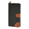 MOONCASE Alcatel One Touch POP C9 , Leather Flip Card Holder Pouch Stand Back ЧЕХОЛ ДЛЯ Alcatel One Touch POP C9 Black mooncase alcatel one touch pop c7 leather flip card holder pouch stand back чехол для alcatel one touch pop c7 blue