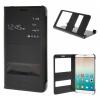 MOONCASE Huawei Honor 7i ЧЕХОЛДЛЯ Premium PU Leather Pouch Flip Black сотовый телефон huawei honor 8 pro black