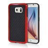 MOONCASE Soft Flexible Silicone Gel TPU Skin Shell Back ЧЕХОЛ ДЛЯ Samsung Galaxy S6 Red embossed tpu gel shell for ipod touch 5 6 girl in red dress
