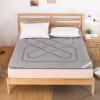 Ю. Гуан домашний текстиль двойной толстый матрас кровати матрасы фланель кровать тафта татами матрас серый 150 * 200 см