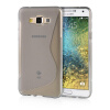 MOONCASE S - Line Soft Flexible Silicone Gel TPU Skin Shell Back ЧЕХОЛ ДЛЯ Samsung Galaxy E7 Grey mooncase soft silicone gel side flip pouch hard shell back чехол для samsung galaxy s6 grey