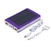 Высокое качество 1 шт. 8000mAh портативный супер солнечное зарядное устройство Dual USB Внешняя батарея Банк питания зарядное устройство dingtong 8000mah a191