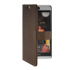 MOONCASE Slim Leather Side Flip Wallet Card Slot Pouch with Kickstand Shell Back чехол для HTC Desire Eye Coffee mooncase slim leather side flip wallet card slot pouch with kickstand shell back чехол для samsung galaxy a3 brown