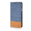 MOONCASE Canvas Design Leather Side Flip Wallet Pouch Stand Shell Back ЧЕХОЛДЛЯ Samsung Galaxy E5 Light Blue mooncase canvas design leather side flip wallet pouch stand shell back чехолдля samsung galaxy note edge n9150 light blue