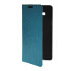 MOONCASE Slim Leather Side Flip Wallet Card Slot Pouch with Kickstand Shell Back чехол для Samsung Galaxy A7 Blue for iphone 7 4 7 inch brushed plastic kickstand shell casing baby blue