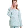 Беременные хорошее время марли месяц обслуживания беременных женщин пижамы Буру Yi кормления одежда для беременных Y861506 цвет XL товары для беременных