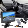 800x 480 7-дюймовый TFT цветной ЖК-АВ автомобиля rearview автомобиля монитор HDMI разъем VGA с AV