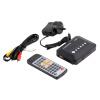 1080P HD USB HDMI Multi TV Media Video Player Коробка ТВ видео SD MMC RMVB MP3 Черный АС golden media wizard hd в сургуте