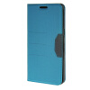 MOONCASE Fashion Leather чехол для Wallet Flip Card Slot Stand Back Slim Cover Samsung Galaxy S6 Edge Plus ( Edge+) синий 01 slim clear cover for samsung galaxy s6 edge blue
