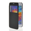 MOONCASE Ultra Thin Leather Side Flip Pouch Hard board Shell Back ЧЕХОЛ ДЛЯ Samsung Galaxy S5 Mini Black mooncase soft silicone gel side flip pouch hard shell back чехол для samsung galaxy s6 black