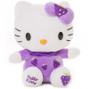 Hello Kitty Kitty Cat Плюшевые игрушки Fruit Series KT Cartoon Doll Doll Doll Pole 15 дюймов Сидящий KT Фиолетовый Фиолетовый KT1341 20cm high quality hello kitty plush toys hug pillow fruit kt cat stuffed dolls for girls kids toys gift mini animal plush doll